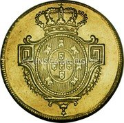 Portugal 4 Escudos (Peca) 1802 KM# 332 Kingdom Milled coinage coin reverse