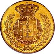 Portugal 4 Escudos (Peca) 1822 KM# 364 Kingdom Milled coinage coin reverse