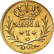 Portugal 400 Reis (Pinto. 480 Reis) 1795 KM# 291 Kingdom Milled coinage coin obverse