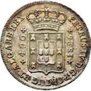 Portugal 400 Reis (Pinto. 480 Reis) 1826 KM# 377 Kingdom Milled coinage coin obverse