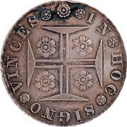 Portugal 400 Reis (Pinto. 480 Reis) 1833 KM# 403.1 Kingdom Milled coinage coin reverse