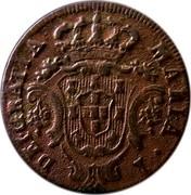 Portugal 5 Reis 1797 KM# 9 Prortuguese Administration Provincial coinage MARIA I DEI GRATIA coin obverse
