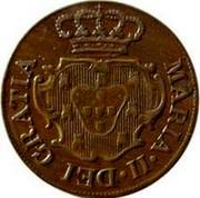 Portugal 5 Reis 1830 KM# 5 Terceira Island MARIA II DEI GRATIA coin obverse