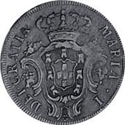 Portugal 5 Reis (V) 1791 KM# 305 Kingdom Milled coinage MARIA • I • DEI • GRATIA coin obverse