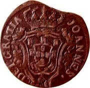Portugal 5 Reis (V) 1801 KM# 325 Kingdom Milled coinage JOANNES DEI GRATIA coin obverse