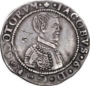 UK 5 Shillings (James VI) IACOBVS 6 D G R SCOTORVM coin obverse