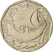 Portugal 50 Escudos 1999 KM# 636 Republic coin reverse