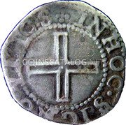 Portugal 50 Reis (1/2 Tostao) ND KM# 16 Kingdom Dump coinage coin reverse