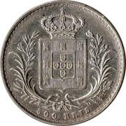 Portugal 500 Reis 1888 KM# 509 Kingdom Decimal coinage coin reverse