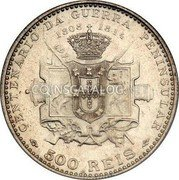 Portugal 500 Reis 1910 KM# 556 Kingdom Decimal coinage coin reverse