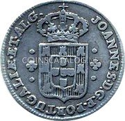 Portugal 60 Reis (3 Vintens) ND KM# 312 Kingdom Milled coinage coin obverse