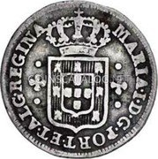 Portugal 60 Reis (3 Vintens) ND KM# 284 Kingdom Milled coinage coin obverse