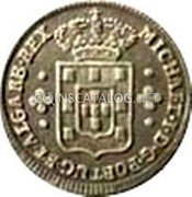 Portugal 60 Reis (3 Vintens) ND KM# 382 Kingdom Milled coinage coin obverse