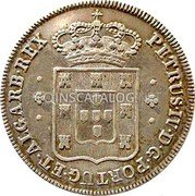 Portugal 60 Reis (3 Vintens) ND KM# 374 Kingdom Milled coinage coin obverse