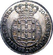 Portugal 60 Reis (3 Vintens) ND KM# 351 Kingdom Milled coinage coin obverse