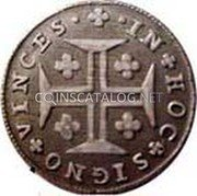 Portugal 60 Reis (3 Vintens) ND KM# 313 Kingdom Milled coinage coin reverse
