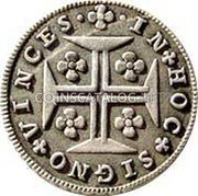 Portugal 60 Reis (3 Vintens) ND KM# 264 Kingdom Milled coinage coin reverse