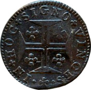 Portugal 60 Reis (3 Vintens) ND KM# 237.1 Kingdom Milled coinage coin reverse