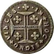 Portugal 60 Reis (3 Vintens) ND KM# 382 Kingdom Milled coinage coin reverse