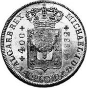 Portugal 600 Reis ND KM# 26.3 Portuguese Administration Countermarked coinage (1887 Decree) coin reverse