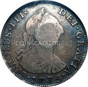 Portugal 600 Reis KM# 26.1 Portuguese Administration Countermarked coinage (1887 Decree) coin obverse