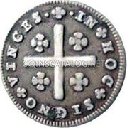 Portugal 80 Reis (LXXX. Tostao) ND KM# 315 Kingdom Milled coinage coin reverse