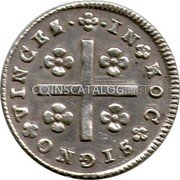 Portugal 80 Reis (LXXX. Tostao) ND KM# 314 Kingdom Milled coinage coin reverse