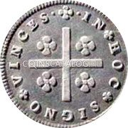 Portugal 80 Reis (LXXX. Tostao) ND KM# 285 Kingdom Milled coinage coin reverse