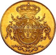 Portugal Escudo 1807 KM# 338 Kingdom Milled coinage coin reverse