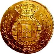 Portugal Escudo 1821 KM# 362 Kingdom Milled coinage coin reverse