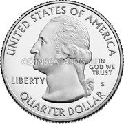 USA 1/4 Dollars (Tuskegee Airmen National Historic Site) UNITED STATES OF AMERICA IN GOD WE TRUST LIBERTY P JF WC QUARTER DOLLAR coin obverse