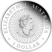 Australia 1 Dollar An Ox 2021 P ELIZABETH II AUSTRALIA 1 DOLLAR coin obverse
