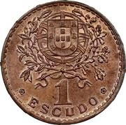 Portugal 1 Escudo (Pattern) 1 ESCUDO coin reverse