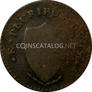 USA 1 Penny (New Jersey Colonial Copper) E PLURIBUS UNUM coin reverse