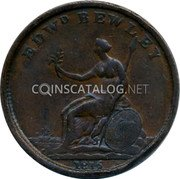 UK 1 Penny British Commonwealth Coins EDWD BEWLEY 1816 coin obverse