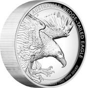 Australia 10 Dollars Australian Wedge-tailed Eagle 2020 P AUSTRALIAN WEDGE-TAILED EAGLE 2020 10OZ 9999 SILVER coin reverse
