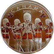 Canada 10 Dollars (O Canada! - Changing of the Guard) CANADA 2020 PY coin reverse