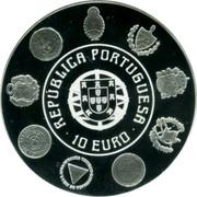 Portugal 10 Euro 2010 INCM KM# 803 Euro coinage coin obverse