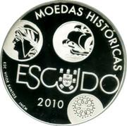 Portugal 10 Euro 2010 INCM KM# 803 Euro coinage coin reverse