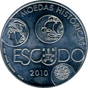 Portugal 10 Euro 2010 INCM Proof KM# 803a Euro coinage coin reverse
