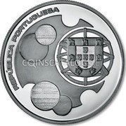 Portugal 10 Euro 2011 Proof KM# 808a Euro coinage coin reverse