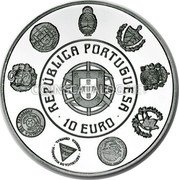 Portugal 10 Euro 2012 Proof KM# 818a Euro coinage coin obverse
