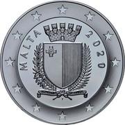 Malta 10 Euro 250th Anniversary of Beethoven's Birth 2020 ☤ REPUBBLIKA TA' MALTA MALTA 2020 coin obverse