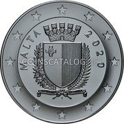 Malta 10 Euro (50th Anniversary of the Armed Forces) MALTA 2020 coin obverse