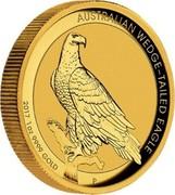 Australia 100 Dollars Australian Wedge-tailed Eagle 2017 P AUSTRALIAN WEDGE-TAILED EAGLE 2017 1OZ 9999 GOLD coin reverse