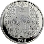 Portugal 1000 Escudos 1998 Proof KM# 713a Republic coin reverse