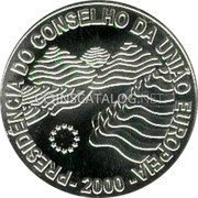 Portugal 1000 Escudos 2000 Proof KM# 724a Republic coin obverse