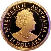 Australia 15 Dollars Hand of Faith 2020P Proof ELIZABETH II AUSTRALIA 15 DOLLARS JC coin obverse