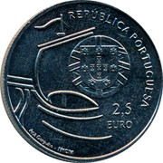 Portugal 2,5 Euro 2011 Republic coin obverse