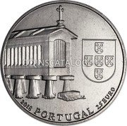 Portugal 2,5 Euro (Granary Houses from Northwest of Portugal) 2018 PORTUGAL 2,5 EURO coin obverse